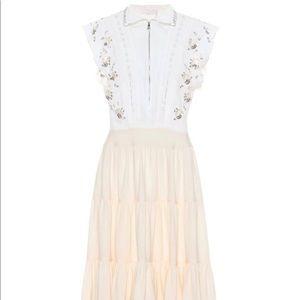 CHLOE // Embellished Midi Dress // size 6